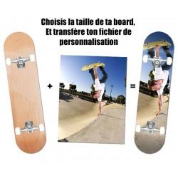 Skateboard personnalisée complet