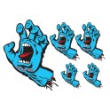 Stickers santa cruz screaming hand