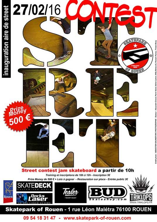 Street Jam Contest Skateboard 2016