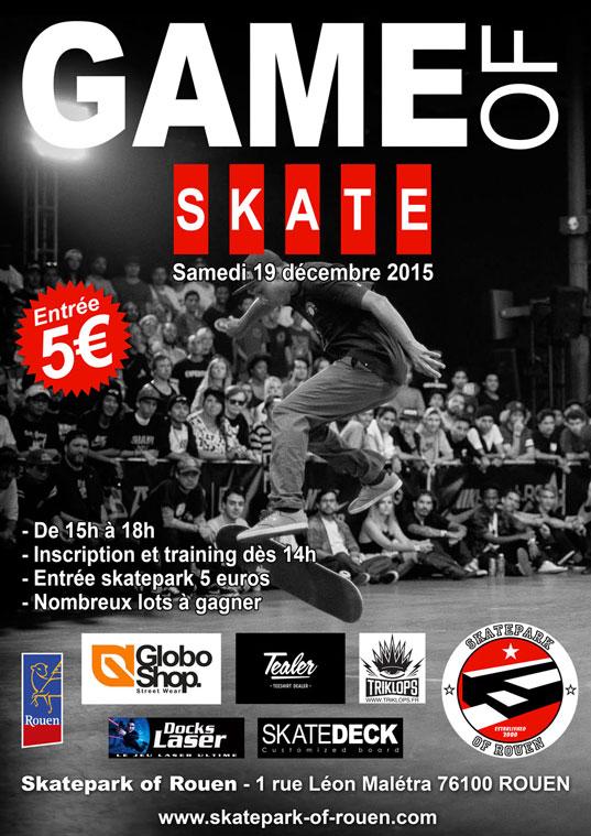 Game of Skate Rouen 2015