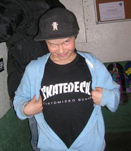 Ptit Max - team Skatedeck