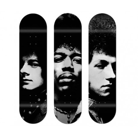 """triptyque """"The Jimi Hendrix Experience"""""""