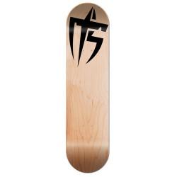 Skate personnalisé bois naturel