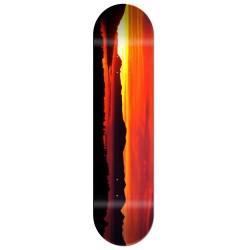 Skate personnalisé coucher de soleil