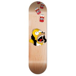 Skate personnalisé homer and beer
