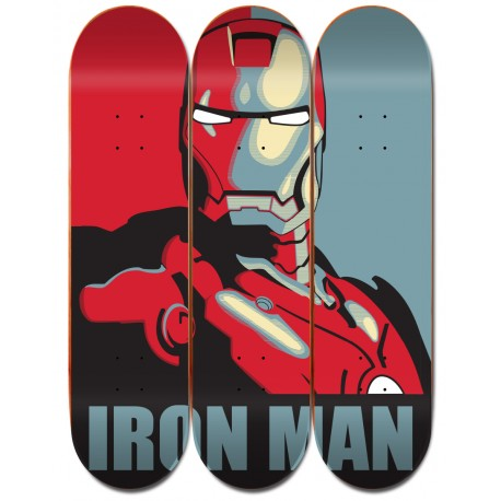 Triptyque IRON MAN